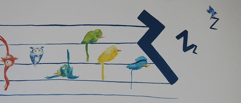 """Mural """"Pajaroleando"""" 5"""
