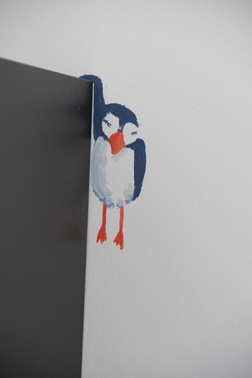 """Mural """"Pajaroleando"""" 7"""