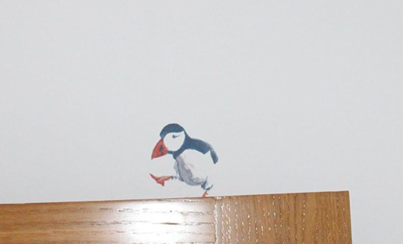 """Mural """"Pajaroleando"""" 8"""