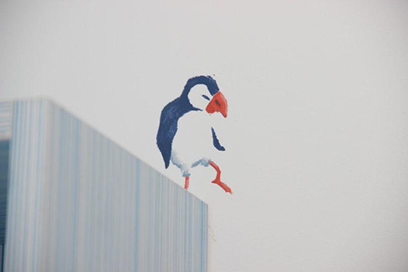 """Mural """"Pajaroleando"""" 9"""