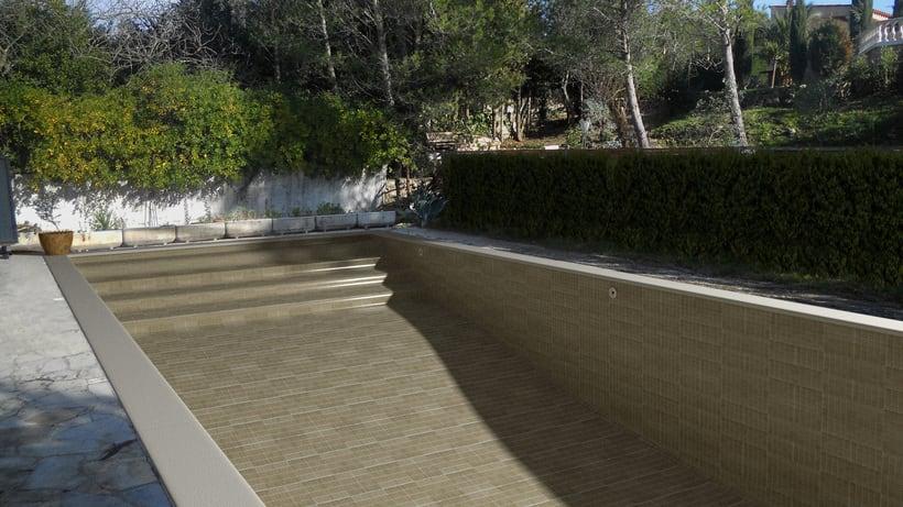 3D Montage fotografíaco/presupuestos de piscinas 13
