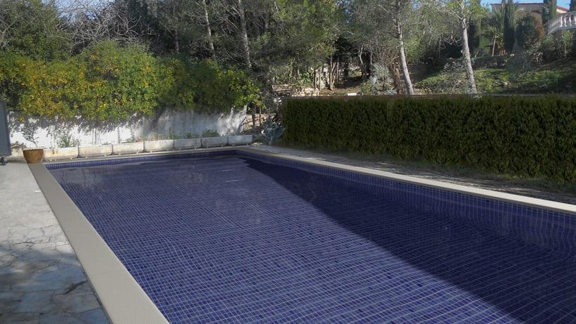 3D Montage fotografíaco/presupuestos de piscinas 14