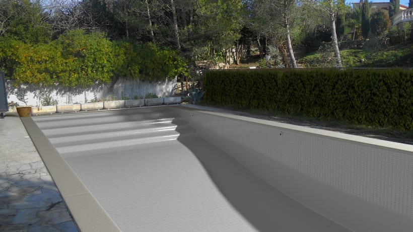 3D Montage fotografíaco/presupuestos de piscinas 15