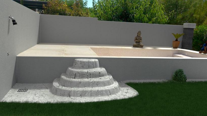 3D Montage fotografíaco/presupuestos de piscinas 8