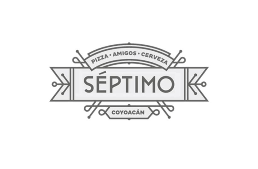 Séptimo Pizza (Naming, branding & interiorismo) 0