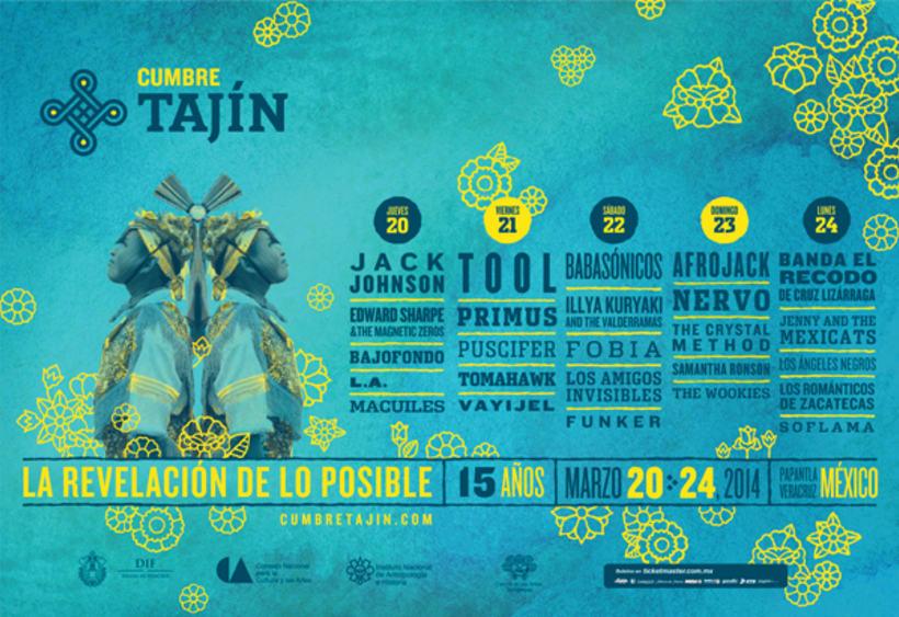 Cumbre Tajín (Rebrand) 3