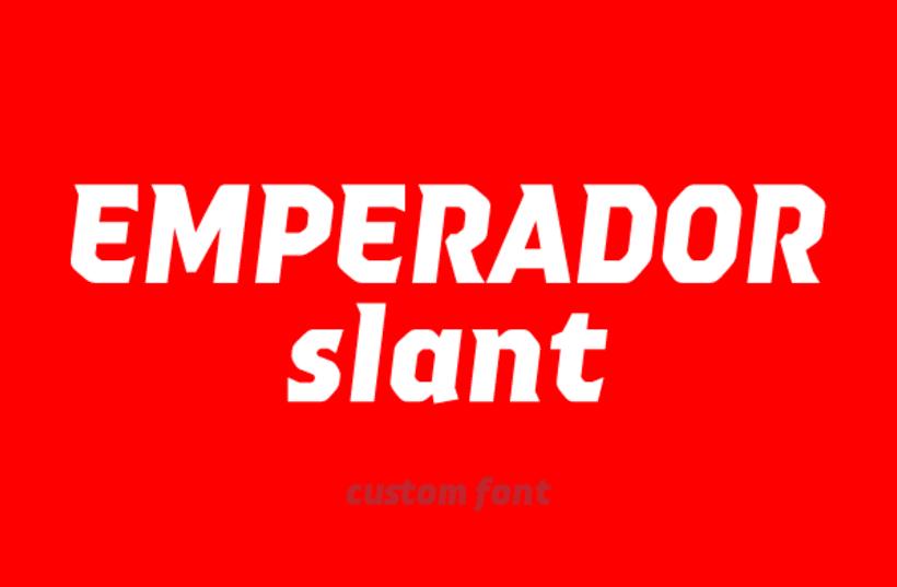 Emperador (Custom font) -1