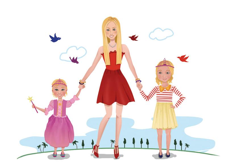 Ilustración femenina 0