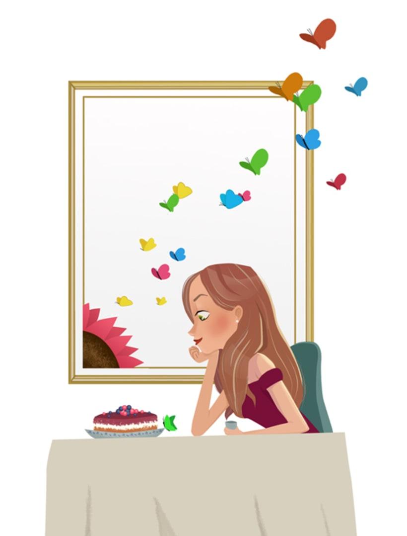 Ilustración femenina 2