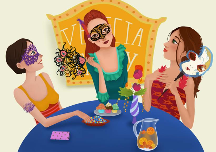 Ilustración femenina 3