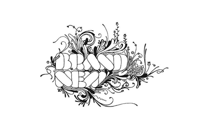 Hecho a Mano (lettering, monogramas y logos) 32