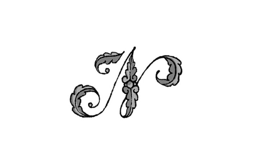 Hecho a Mano (lettering, monogramas y logos) 34