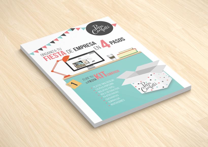 "Flyer | Pepa Confetti ""Fiesta de empresas"" 1"