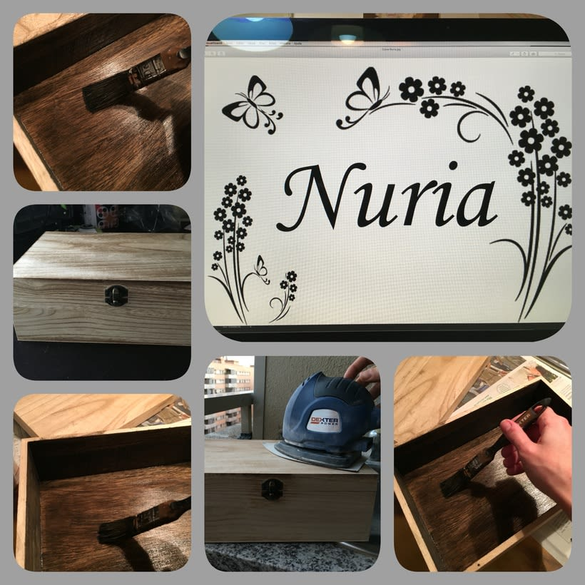 Cajas de madera personalizadas 1