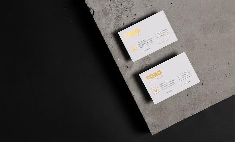 Futura diseña el branding del restaurante Toro 3