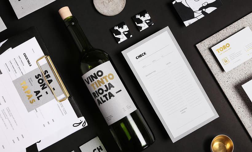 Futura diseña el branding del restaurante Toro 8