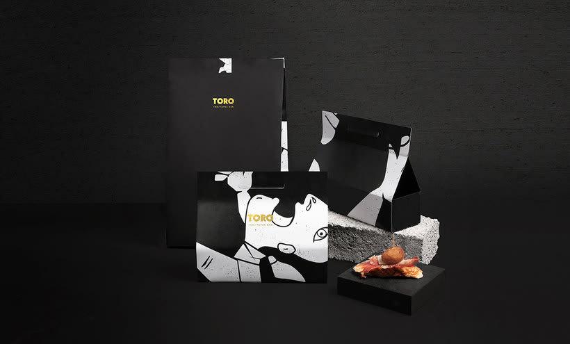Futura diseña el branding del restaurante Toro 17