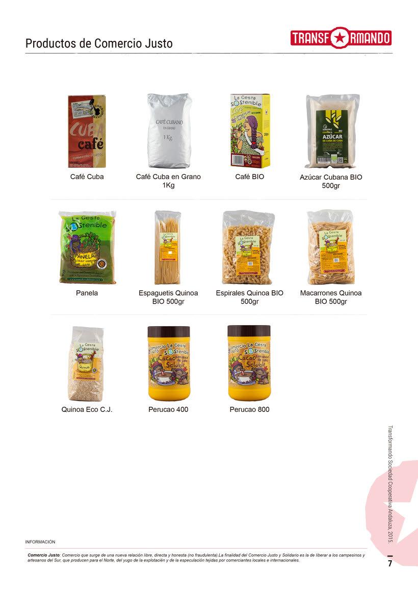 Catálogo de productos - Transformando Cooperativa 8