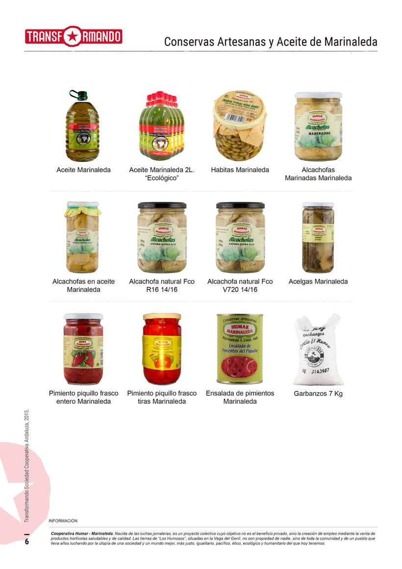 Catálogo de productos - Transformando Cooperativa 7