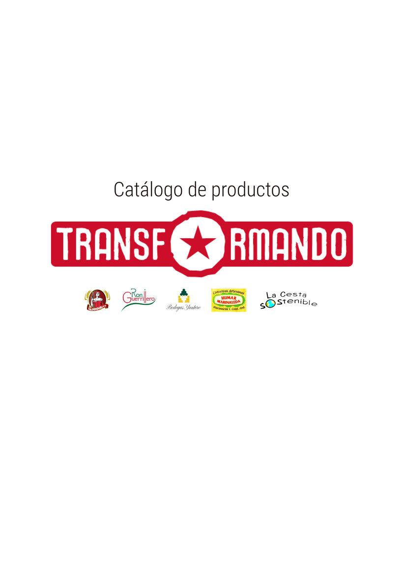 Catálogo de productos - Transformando Cooperativa 2