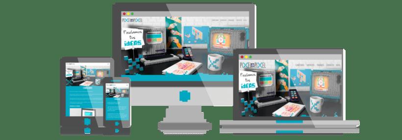 Diseño gráfico, Desarrollo y Diseño Web de Pixel a Pixel 0