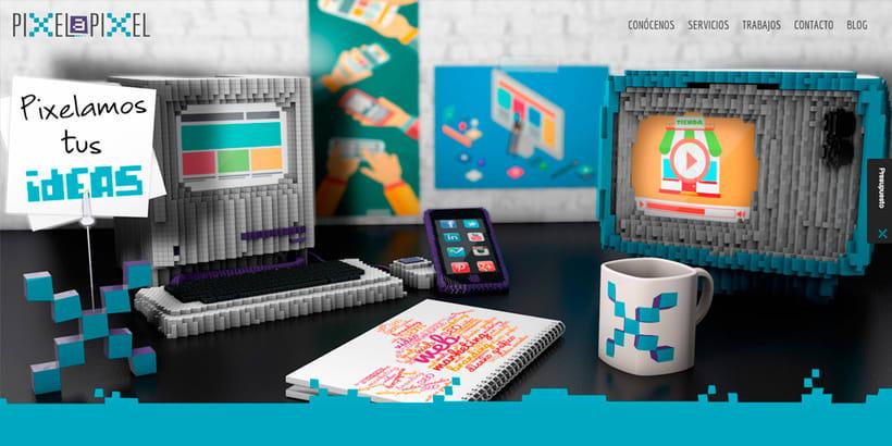Diseño gráfico, Desarrollo y Diseño Web de Pixel a Pixel 1