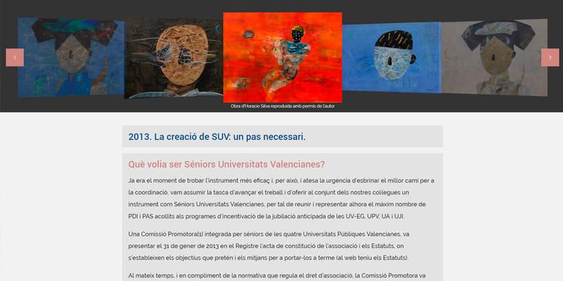 Desarrollo y Diseño Web Senior Universitats Valencianes 2
