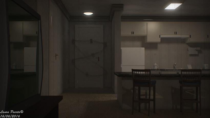Silent hill 4: the room fan art -1