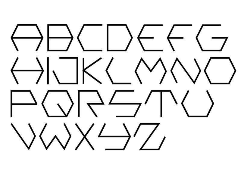 Creación de una tipografía -1