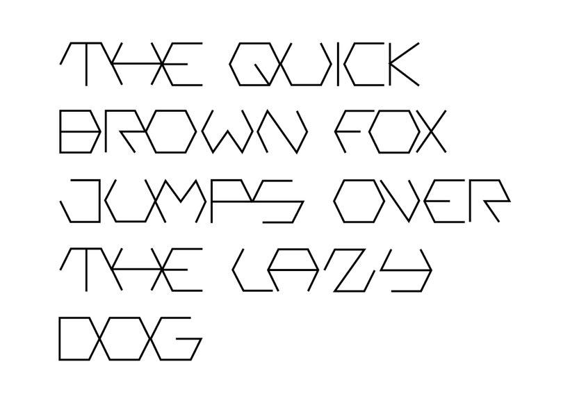 Creación de una tipografía 0