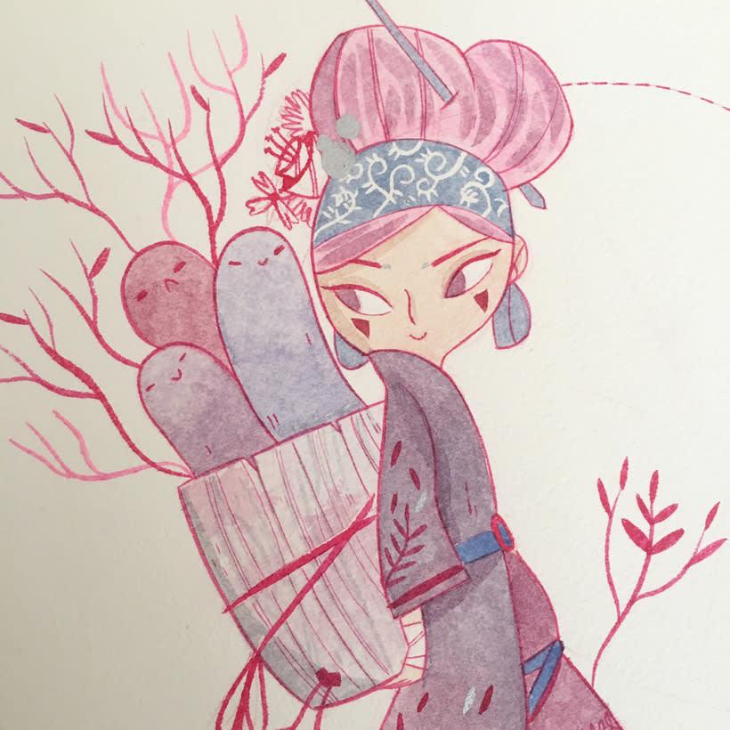 Pink girl 3