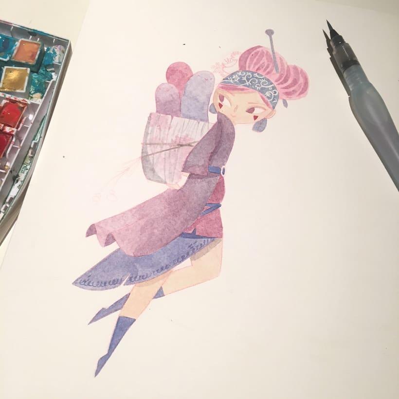 Pink girl 4