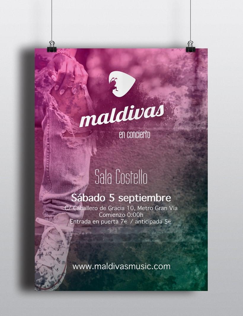 Carteles Maldivas 3
