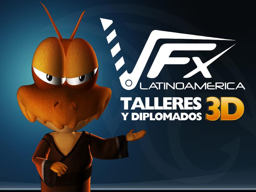 VFX Latinoamerica / talleres y Diplomados 3D -1