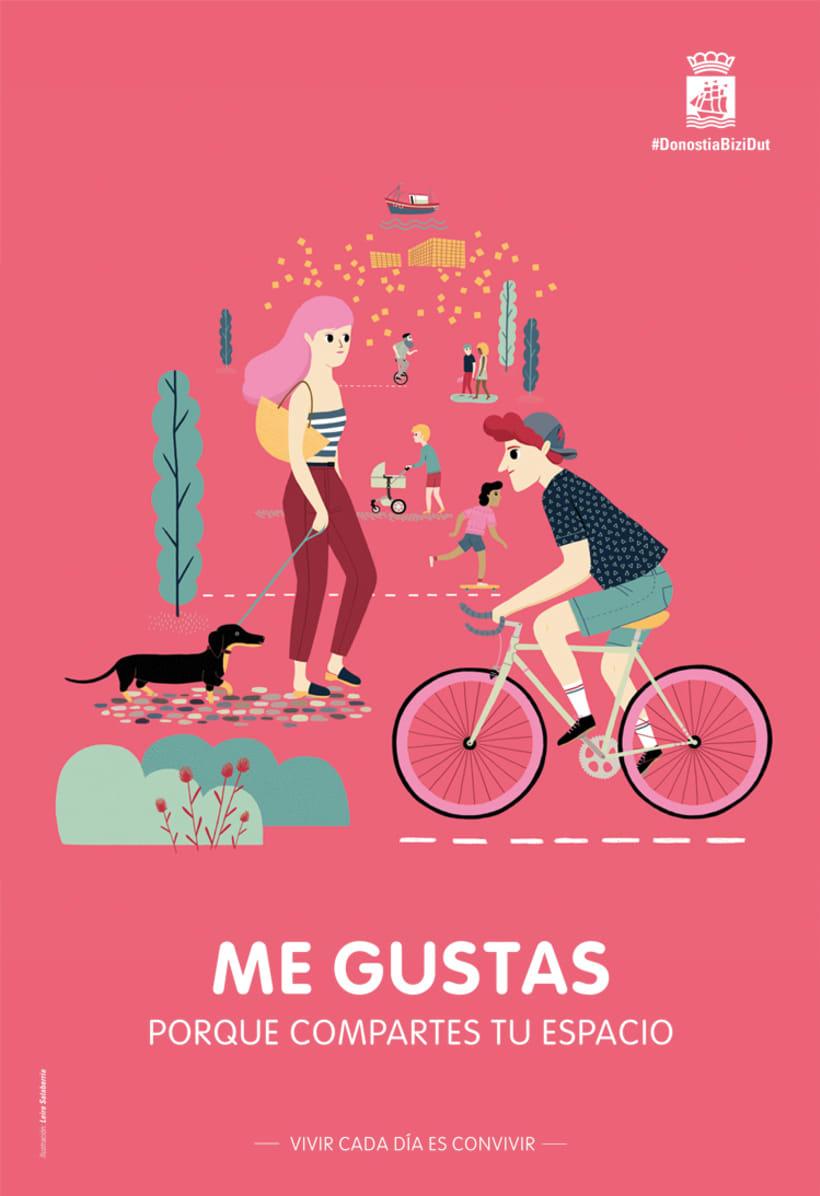 """Poster """"Me gustas""""  1"""