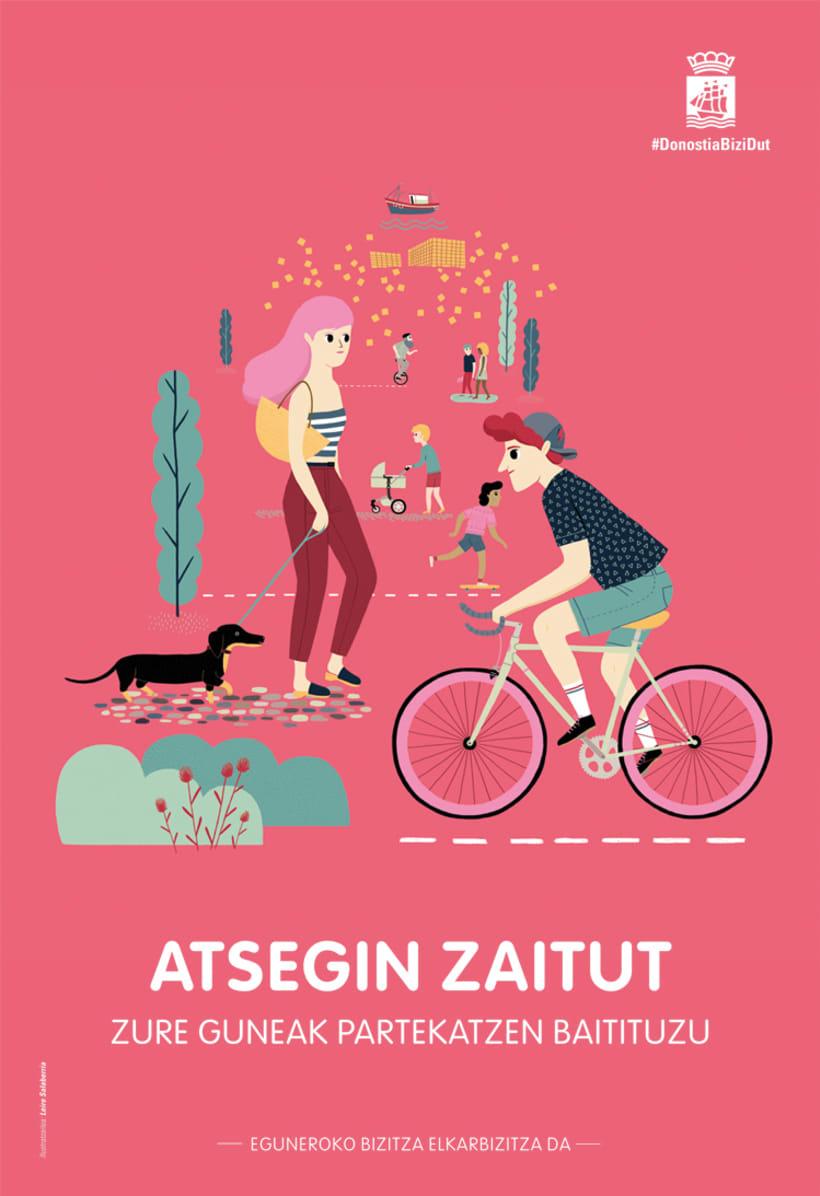 """Poster """"Me gustas""""  2"""