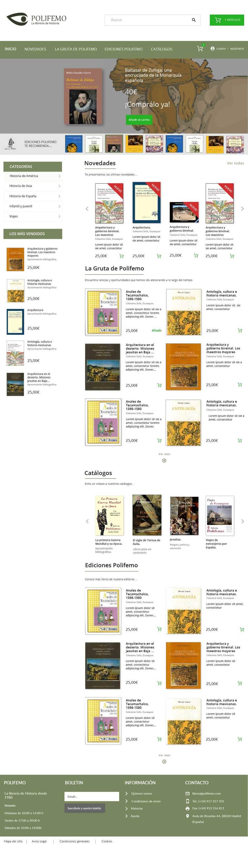 Librería Polifemo -1