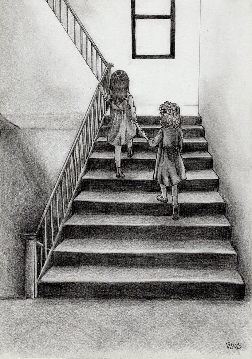 Ilustrando ficciones: Lila & Lenù -1