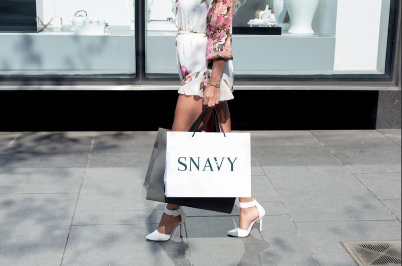 Identidad Gráfica. Snavy (marca de ropa) 5