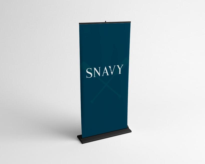Identidad Gráfica. Snavy (marca de ropa) 6