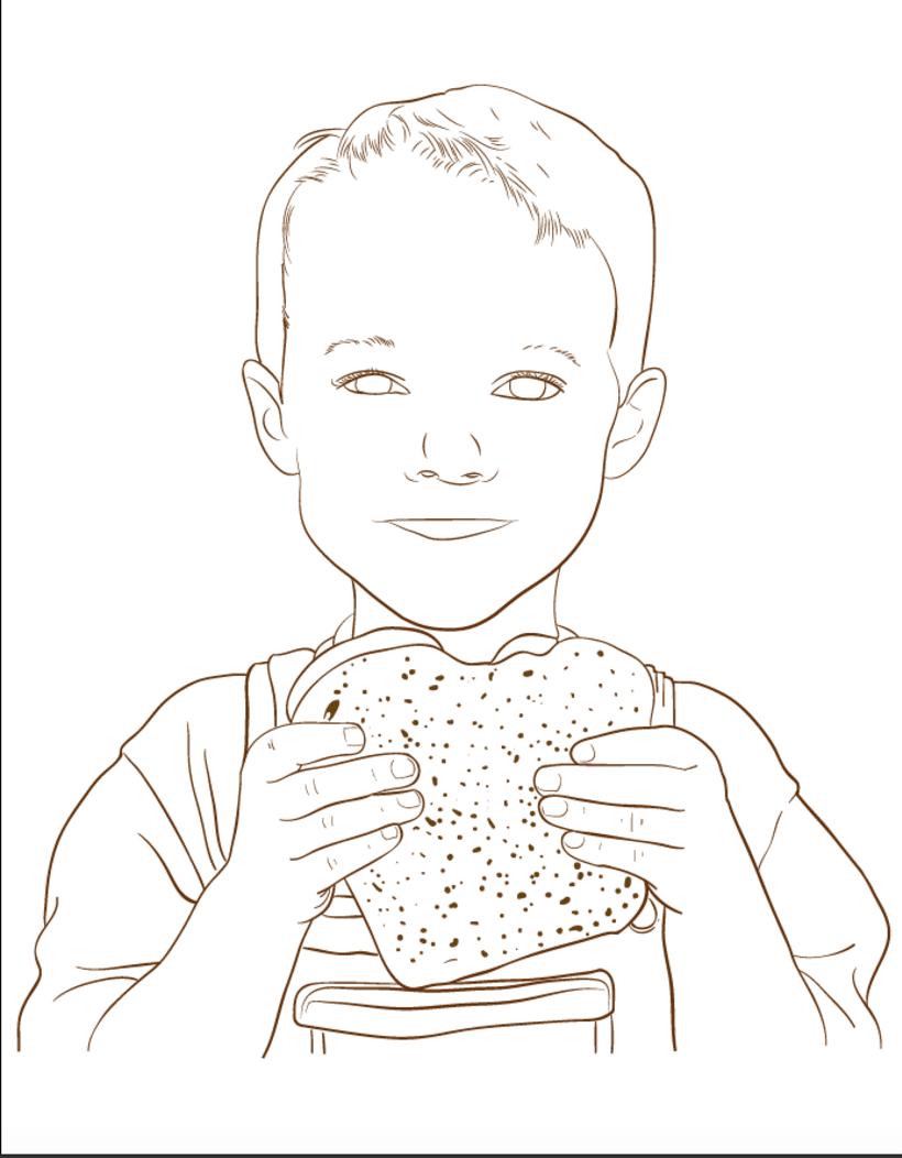 Mi Proyecto del curso: Ilustra con garra y vencerás -1