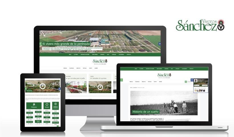 Página web · Viveros Sánchez -1