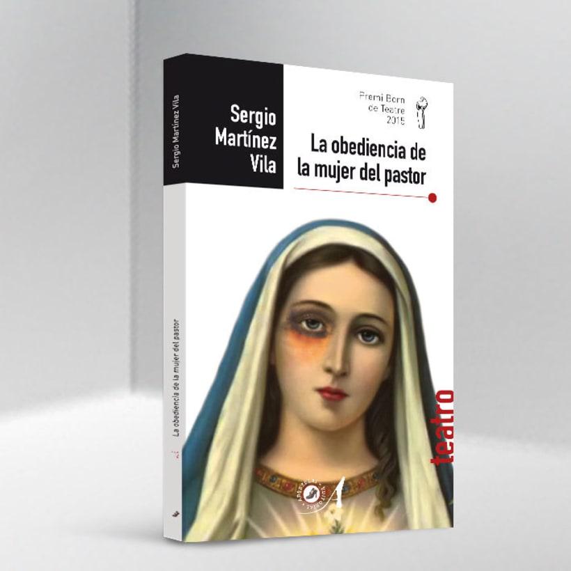 Libro 'La obediencia de la mujer del pastor' -1