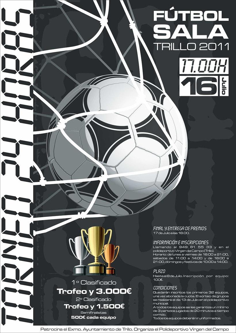 Carteles · Torneo de Fútbol Sala en Trillo 2