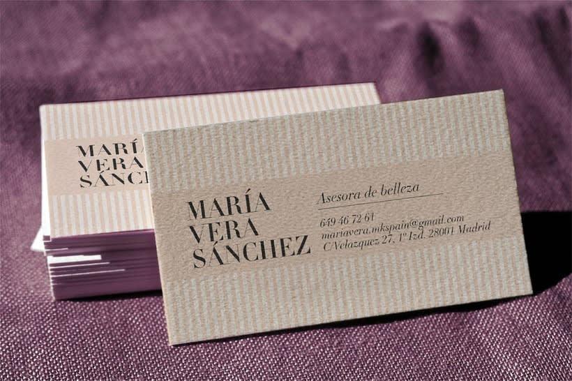 Tarjetas de visita · María Vera Sánchez -1