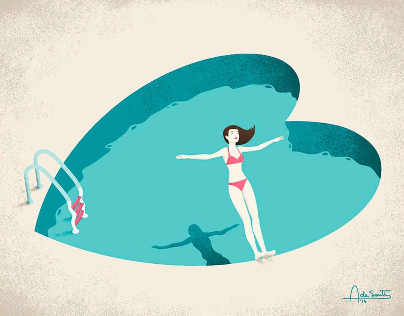 Las ilustraciones editoriales de Andrea de Santis 1