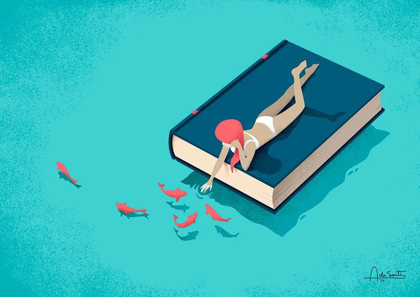 Las ilustraciones editoriales de Andrea de Santis 4