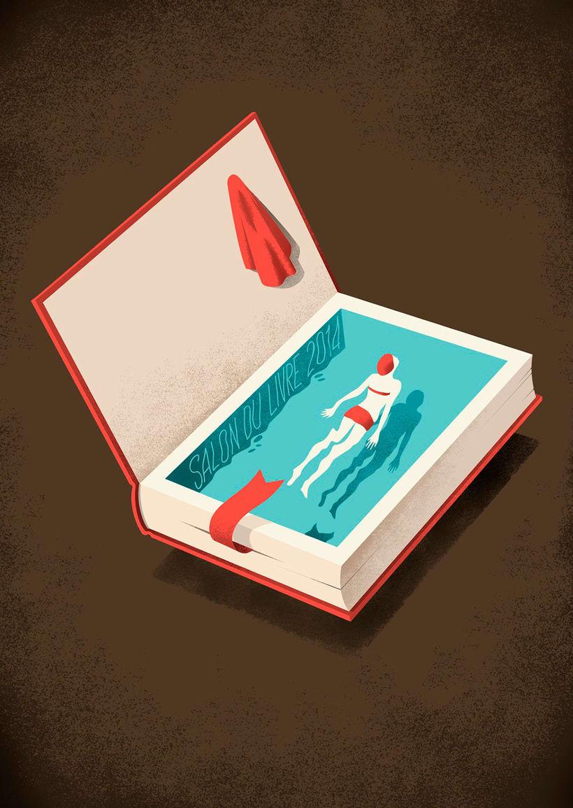 Las ilustraciones editoriales de Andrea de Santis 6