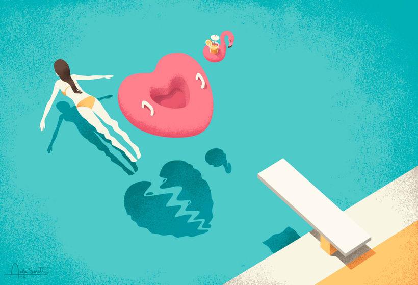 Las ilustraciones editoriales de Andrea de Santis 10