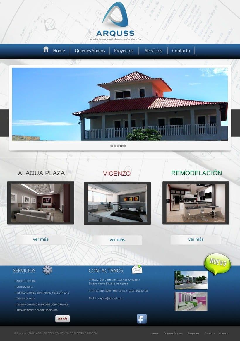 Página Web Arquss -1
